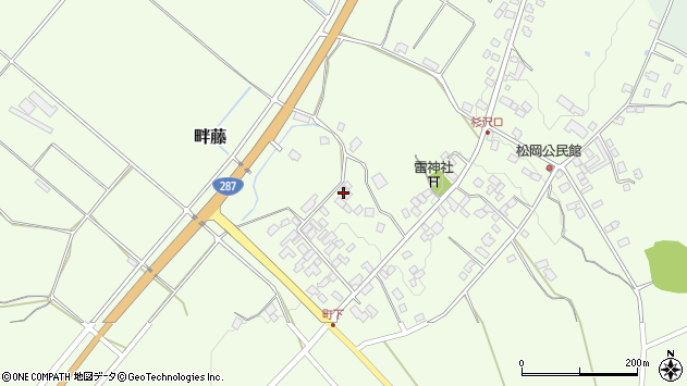 山形県西置賜郡白鷹町畔藤2565周辺の地図
