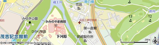 山形県上山市金瓶湯尻47周辺の地図