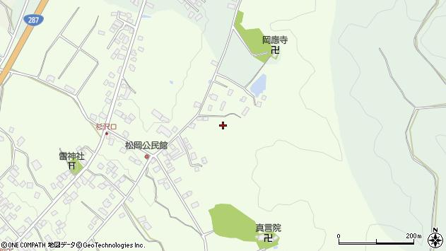 山形県西置賜郡白鷹町畔藤松岡周辺の地図