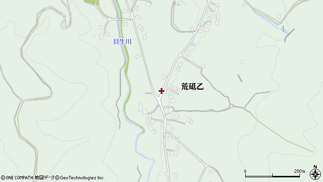 山形県西置賜郡白鷹町荒砥乙2298周辺の地図