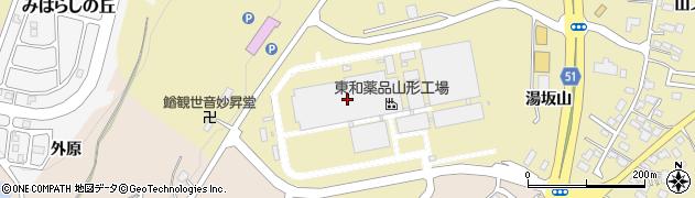 山形県上山市金瓶湯坂山17周辺の地図