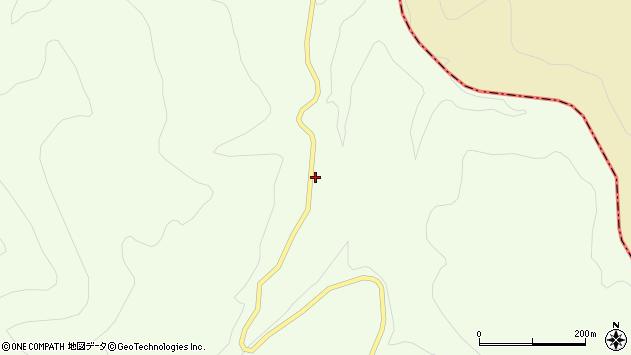 山形県上山市狸森焼山306周辺の地図