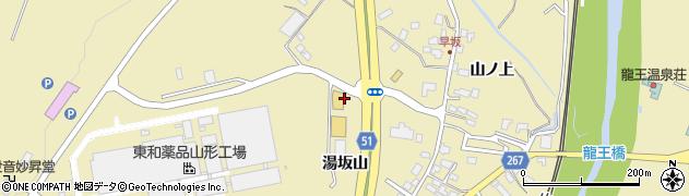 山形県上山市金瓶山ノ上39周辺の地図