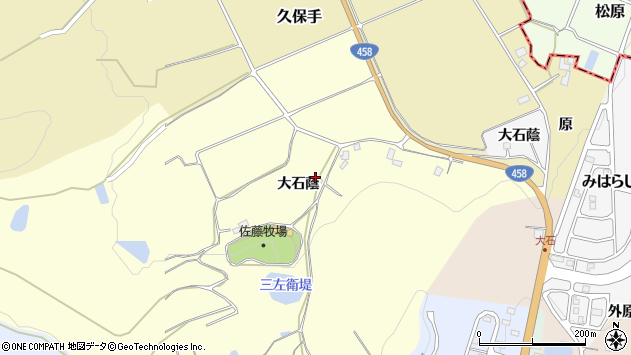 山形県上山市裏町574周辺の地図