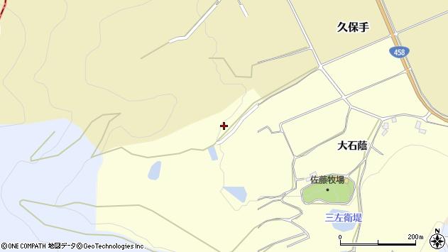 山形県上山市裏町大石蔭445周辺の地図