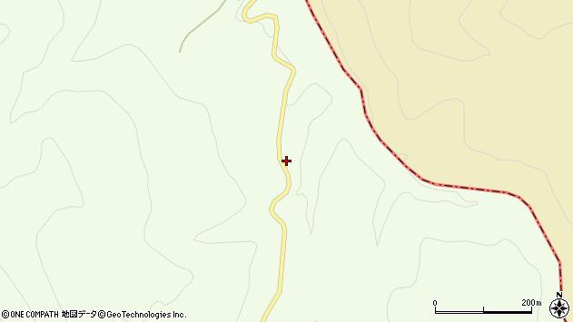 山形県上山市狸森焼山周辺の地図