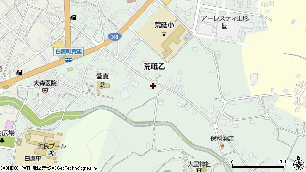 山形県西置賜郡白鷹町荒砥乙711周辺の地図