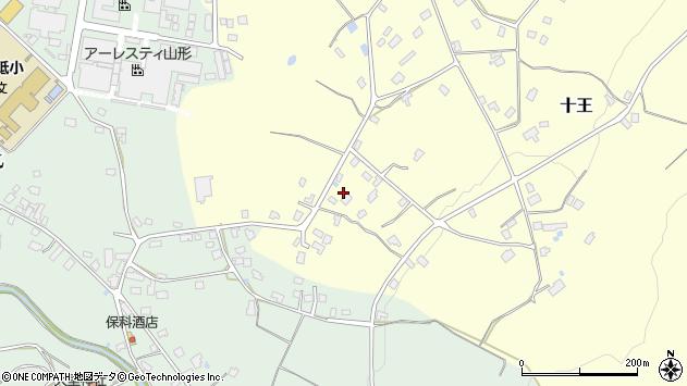 山形県西置賜郡白鷹町十王38周辺の地図