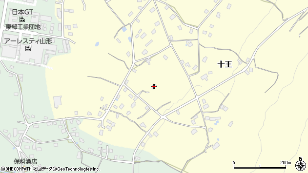 山形県西置賜郡白鷹町十王319周辺の地図