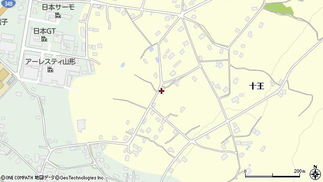 山形県西置賜郡白鷹町十王338周辺の地図