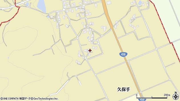 山形県上山市久保手3304周辺の地図