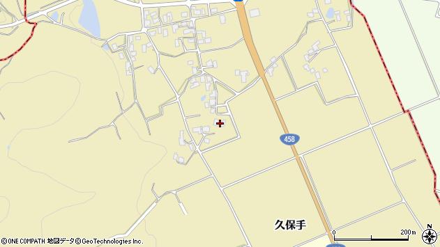 山形県上山市久保手3303周辺の地図
