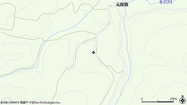 山形県上山市狸森582周辺の地図