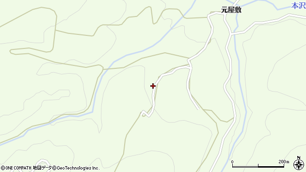 山形県上山市狸森625周辺の地図