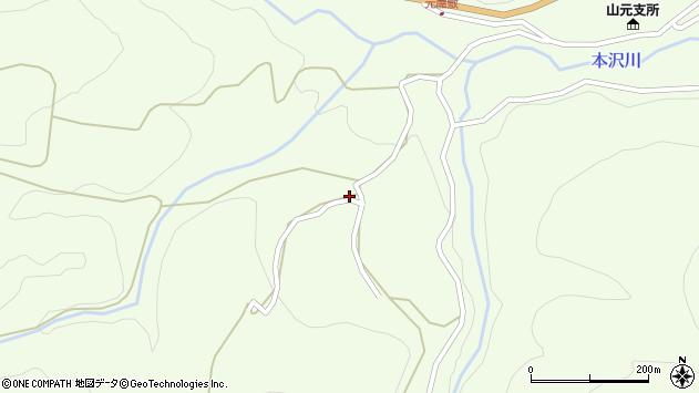 山形県上山市狸森1757周辺の地図