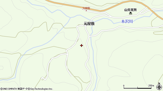山形県上山市狸森563周辺の地図