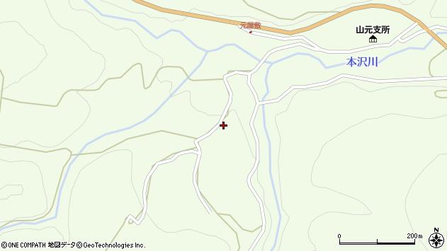 山形県上山市狸森564周辺の地図