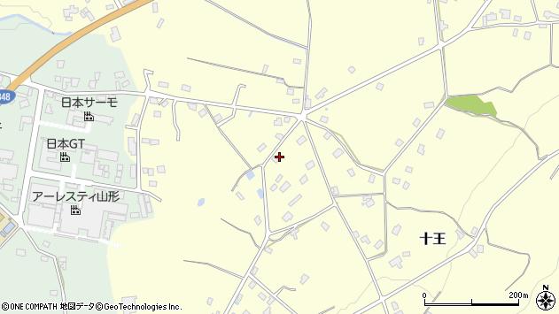 山形県西置賜郡白鷹町十王371周辺の地図