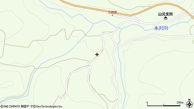 山形県上山市狸森565周辺の地図