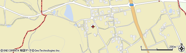 山形県上山市久保手3411周辺の地図