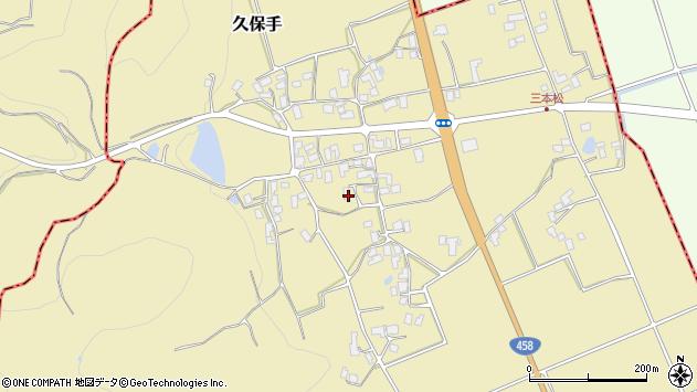 山形県上山市久保手3245周辺の地図