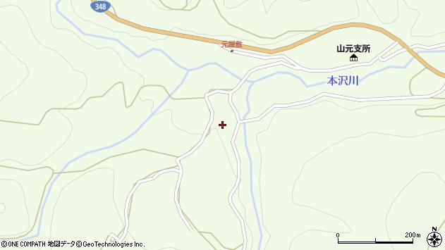 山形県上山市狸森552周辺の地図