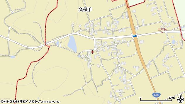 山形県上山市久保手3410周辺の地図