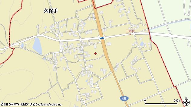 山形県上山市久保手4301周辺の地図