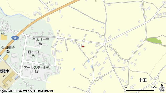 山形県西置賜郡白鷹町十王573周辺の地図