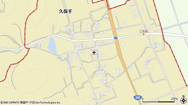 山形県上山市久保手3247周辺の地図
