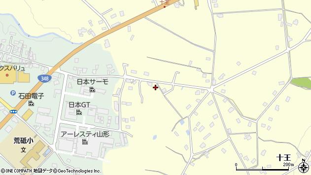 山形県西置賜郡白鷹町十王633周辺の地図