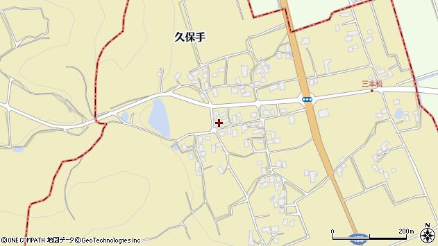 山形県上山市久保手3231周辺の地図