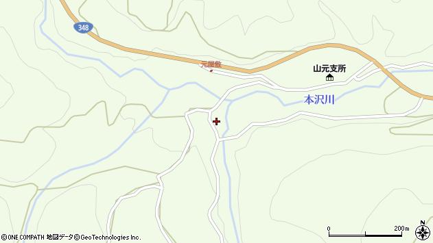 山形県上山市狸森529周辺の地図