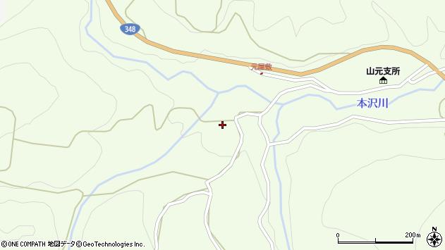 山形県上山市狸森546周辺の地図