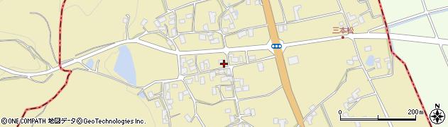 山形県上山市久保手3133周辺の地図