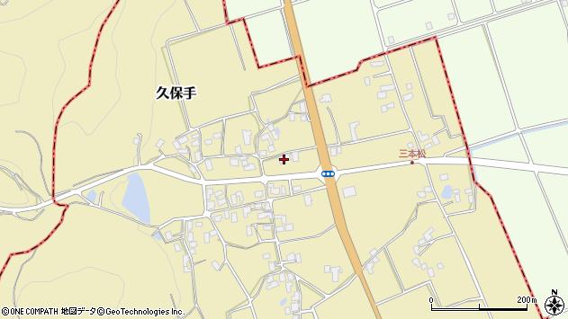 山形県上山市久保手3123周辺の地図