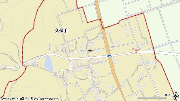 山形県上山市久保手3140周辺の地図