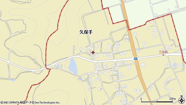 山形県上山市久保手3218周辺の地図
