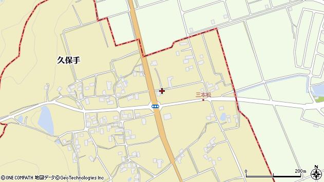 山形県上山市久保手3300周辺の地図