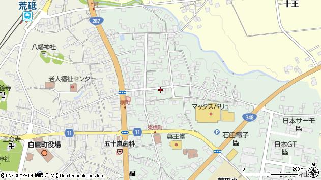 山形県西置賜郡白鷹町荒砥乙907周辺の地図