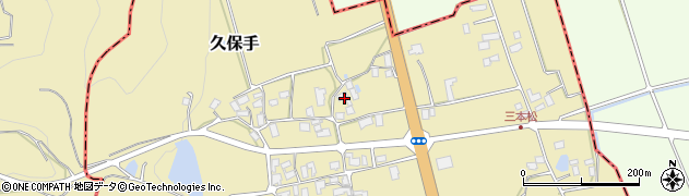 山形県上山市久保手3141周辺の地図