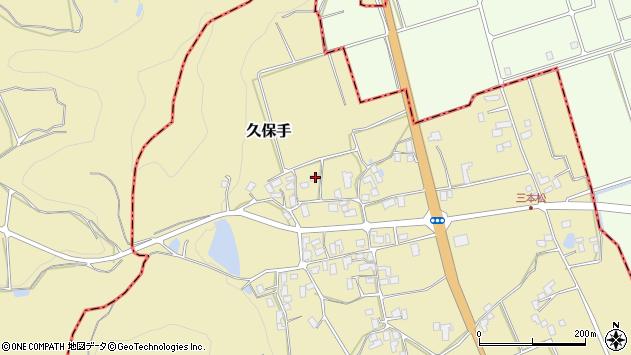 山形県上山市久保手3243周辺の地図