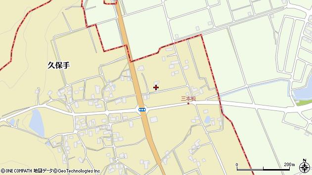 山形県上山市久保手3741周辺の地図
