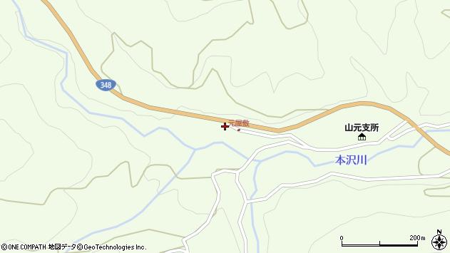 山形県上山市狸森1162周辺の地図