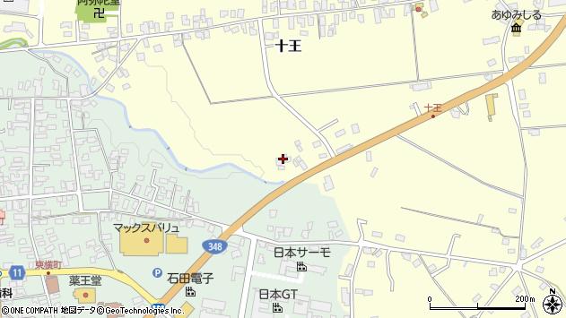 山形県西置賜郡白鷹町十王2861周辺の地図
