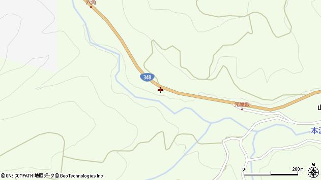 山形県上山市狸森1201周辺の地図