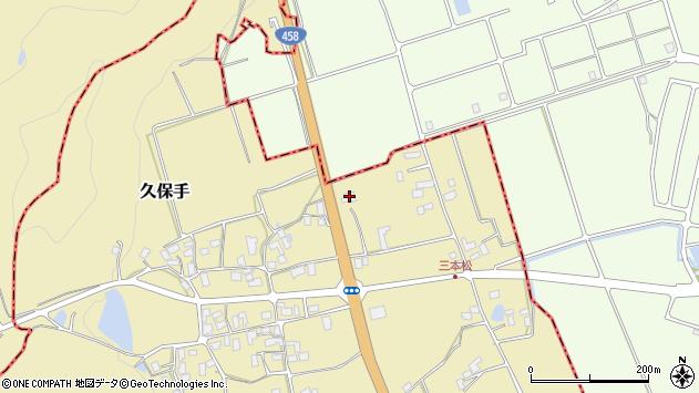 山形県上山市久保手3740周辺の地図