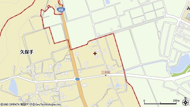 山形県上山市久保手3110周辺の地図