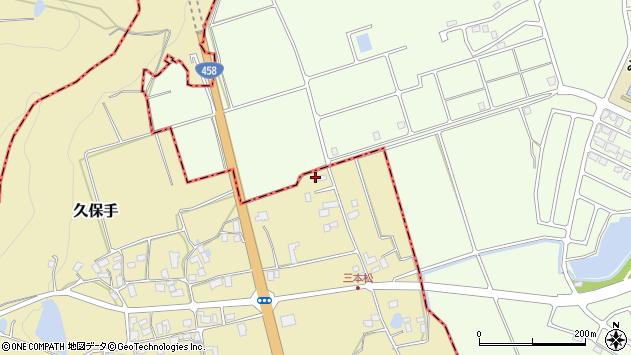 山形県上山市久保手3109周辺の地図