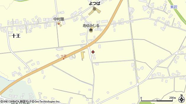 山形県西置賜郡白鷹町十王2407周辺の地図